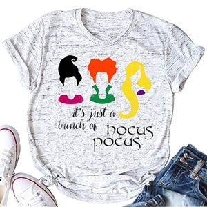 Tops - It's Just a Bunch of Hocus Pocus Tshirt